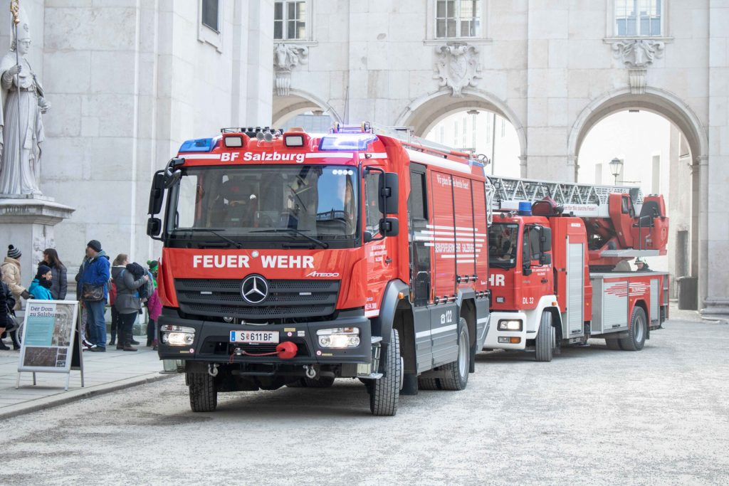 fire services respond to emergency number use in Vienna