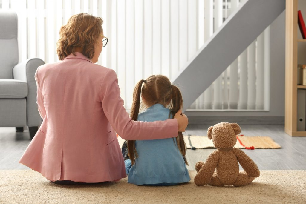 child getting counseling in Austria
