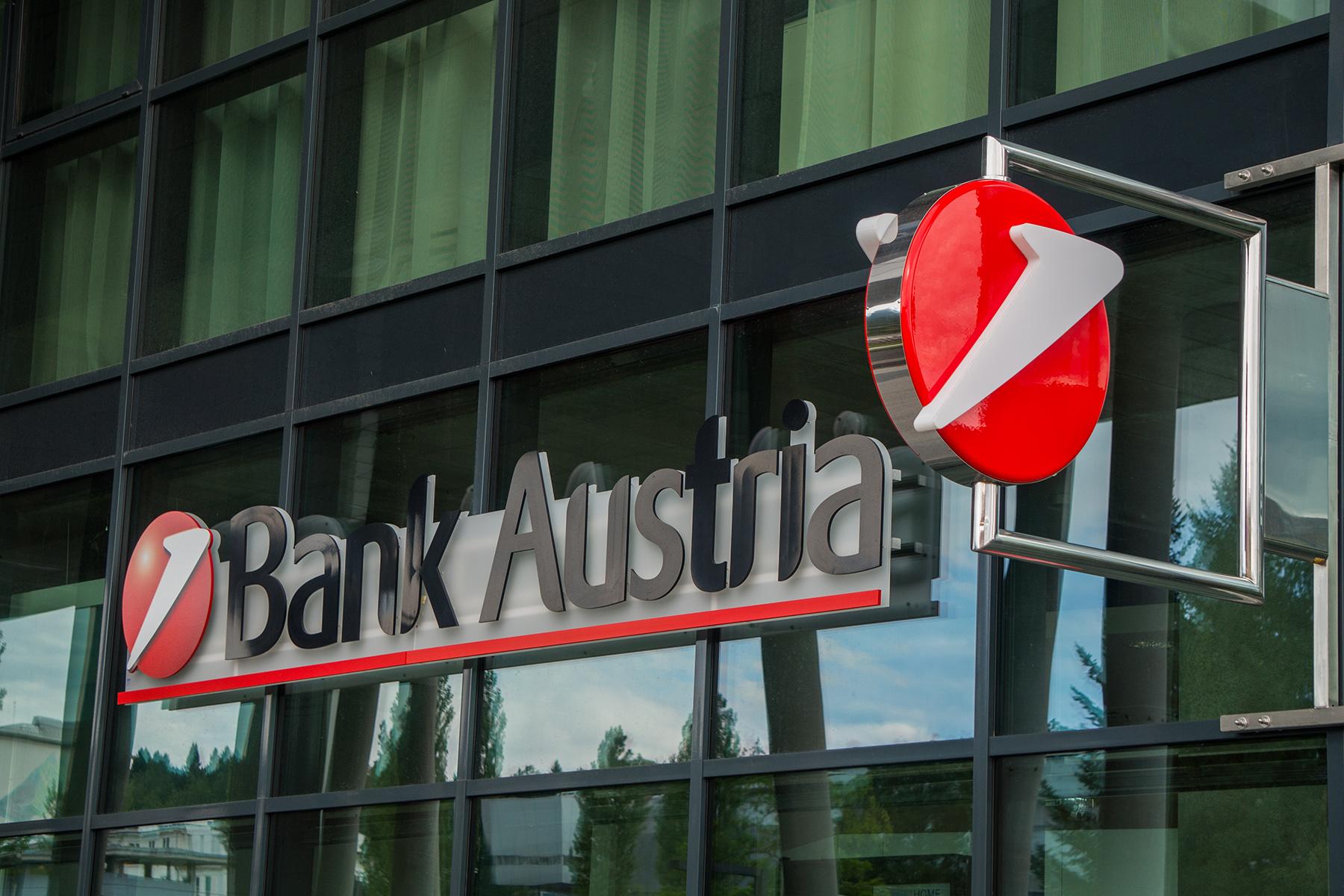 Bank Austria branch