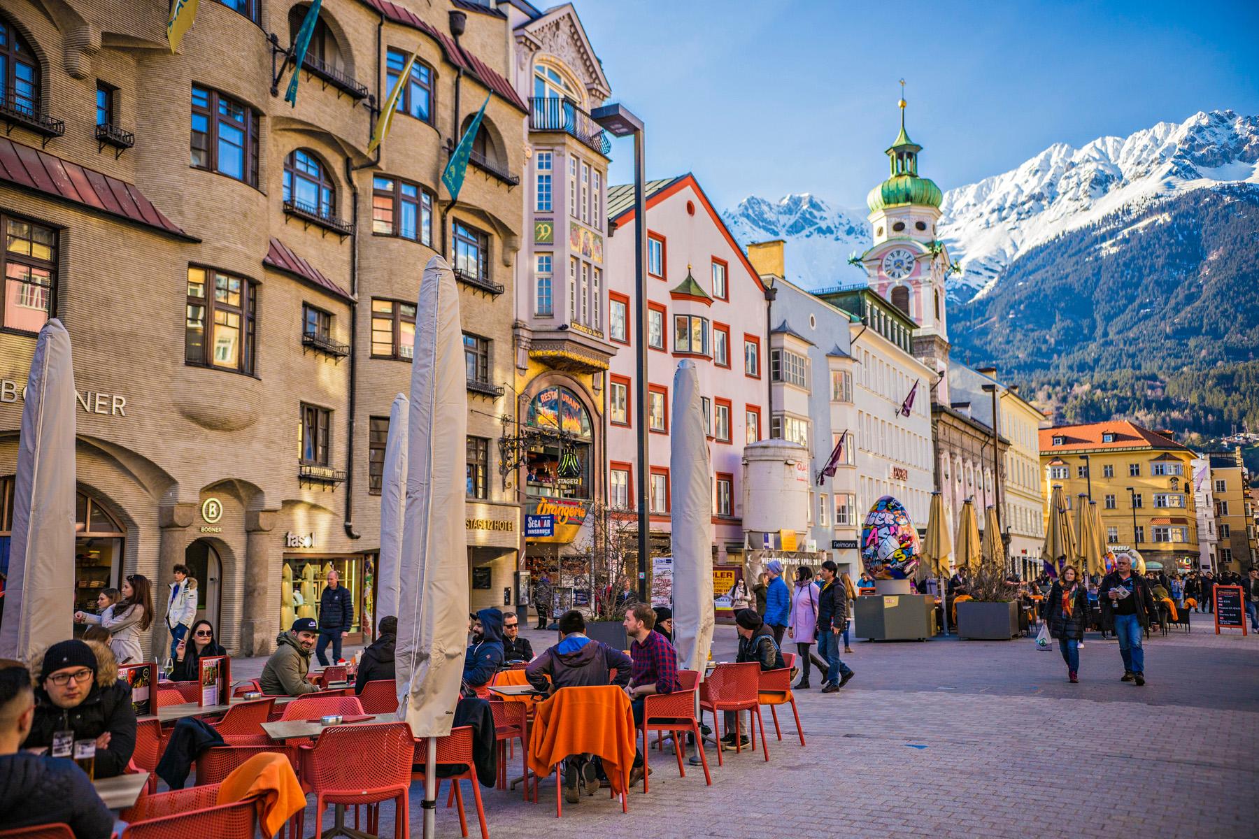 Innsbruck public square