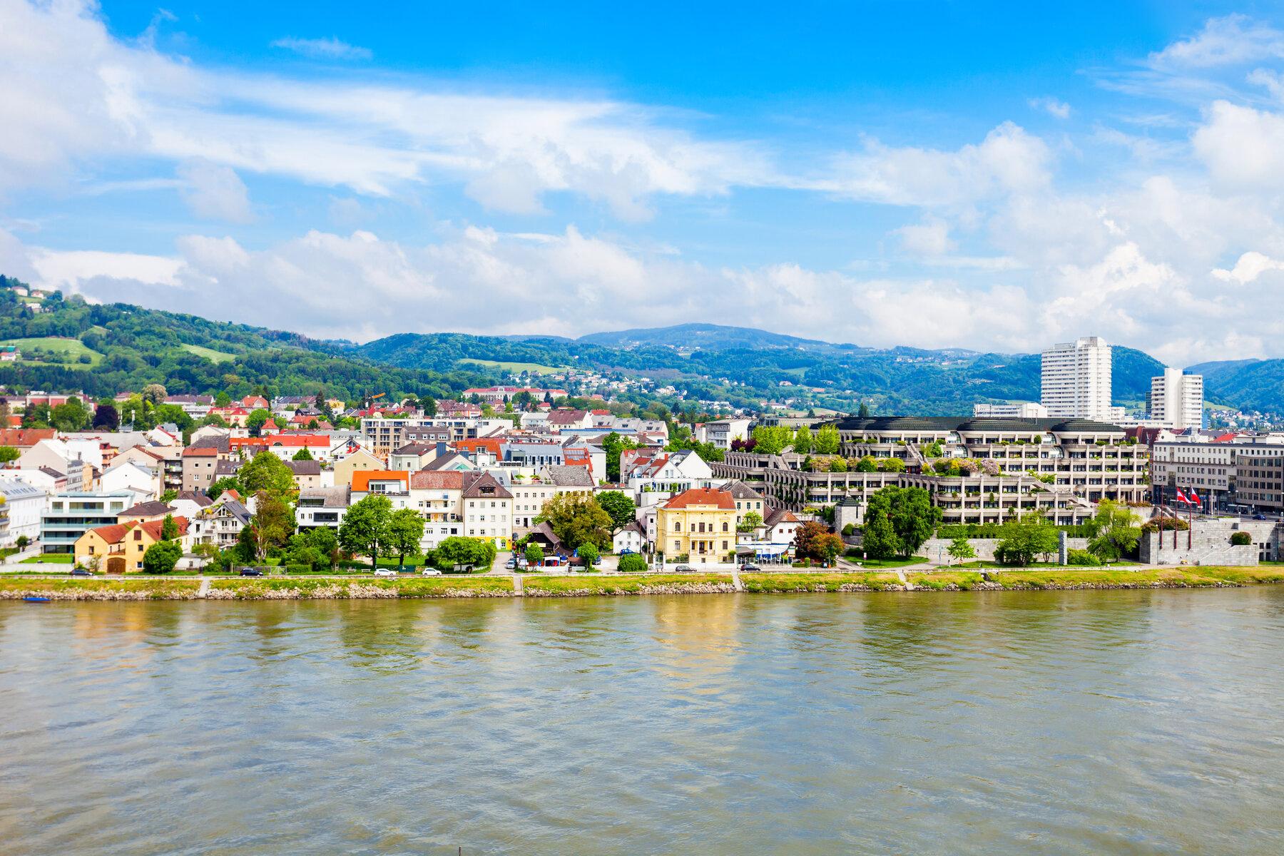 Linz skyline