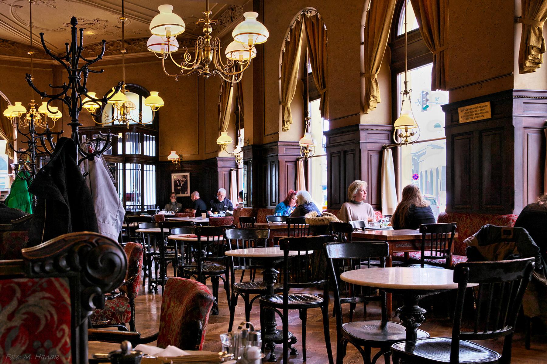 Typical Viennese café