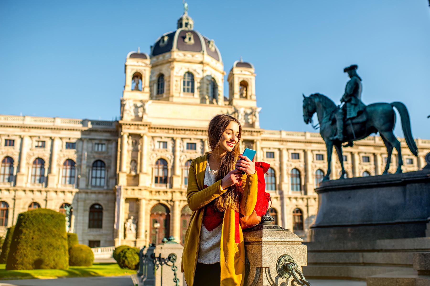 Mobile phone Vienna