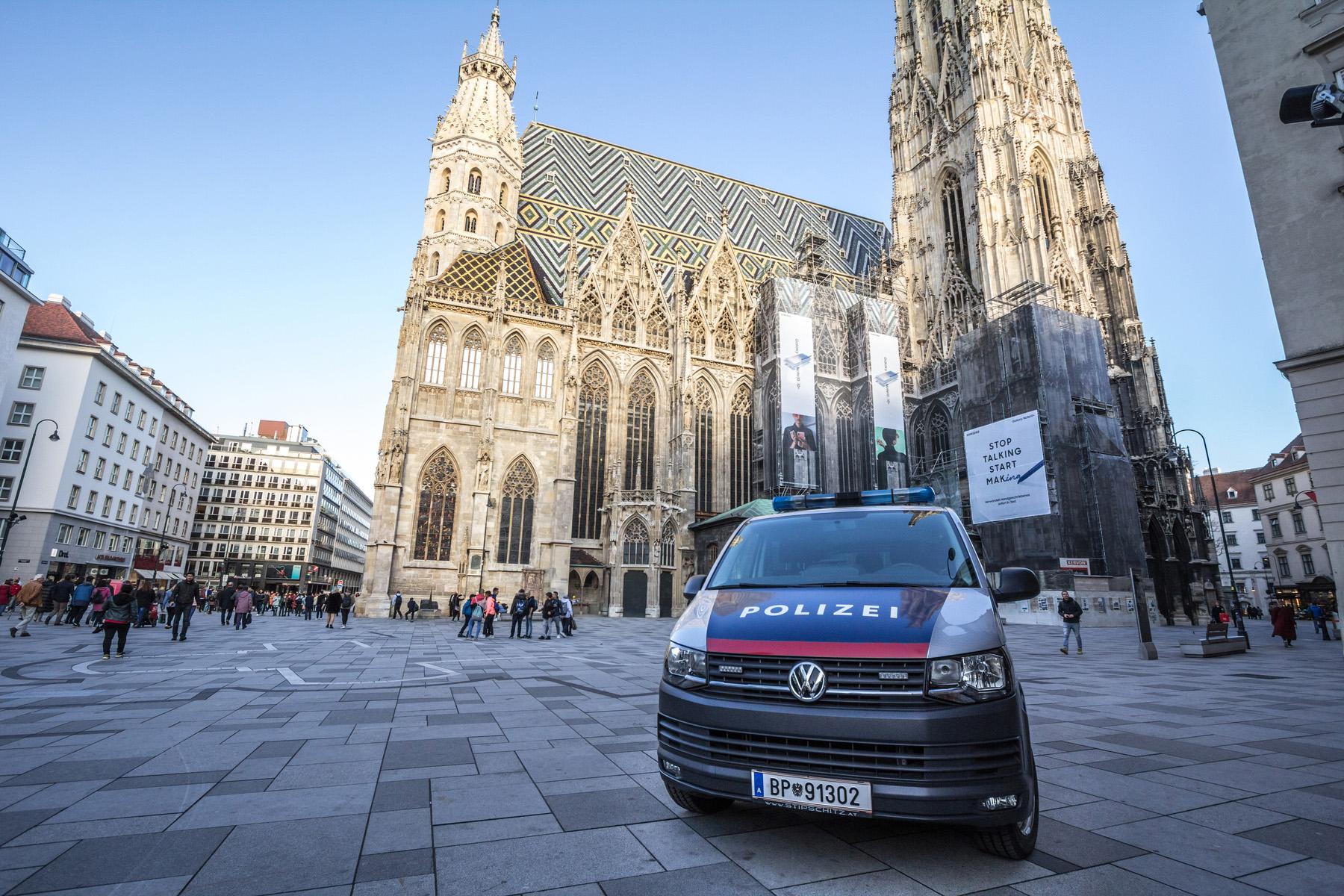 Police car in Vienna