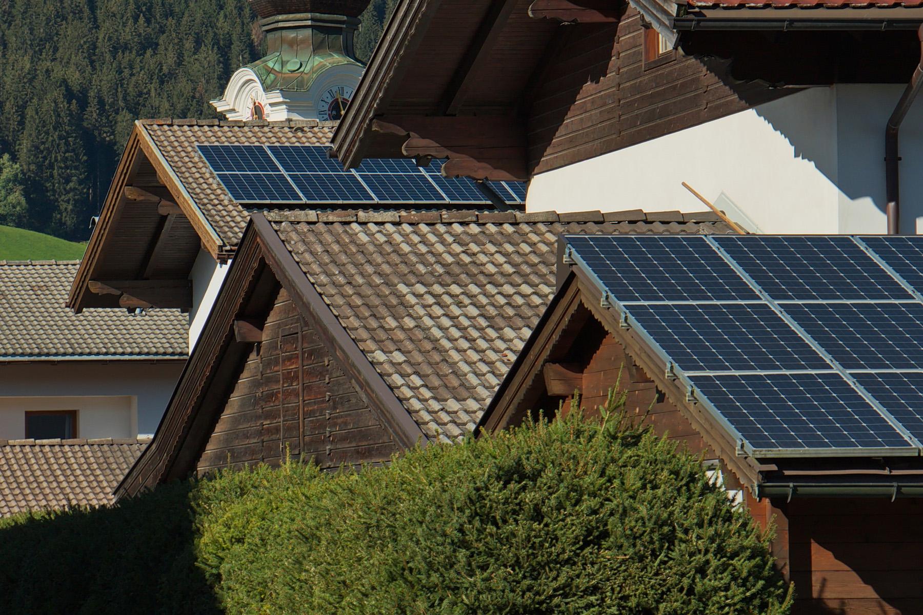 Rooftop solar panels Austria