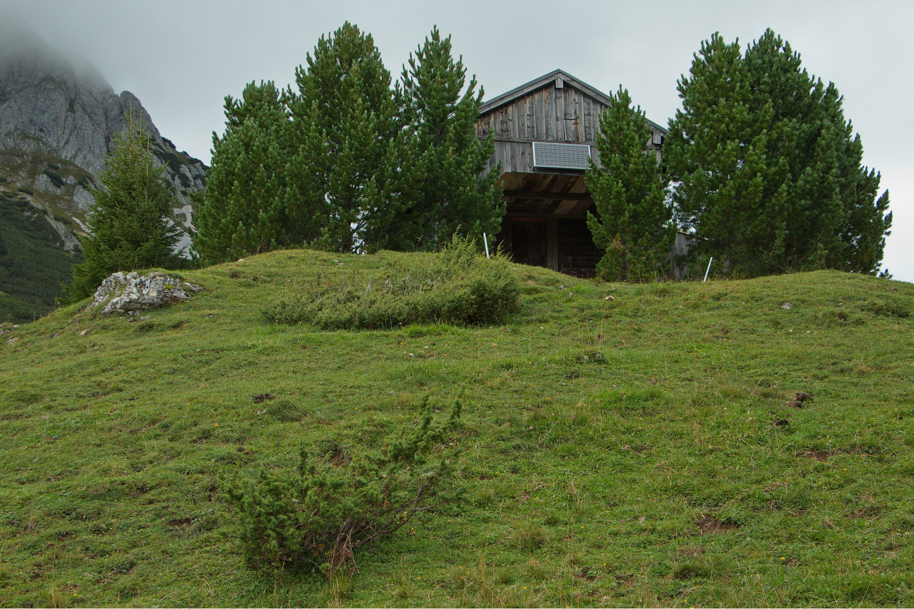 Wooden house in Austria