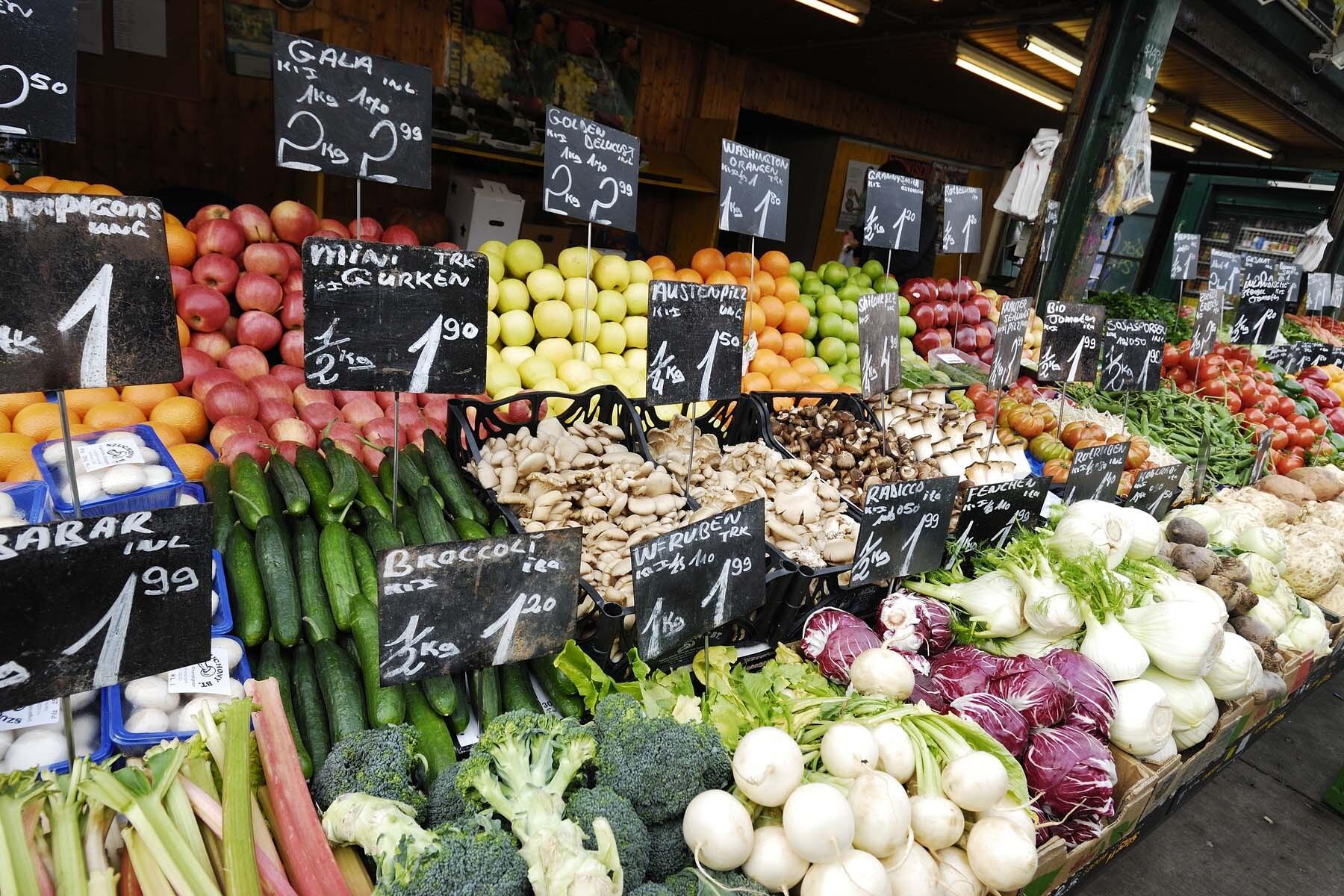 Austrian food market