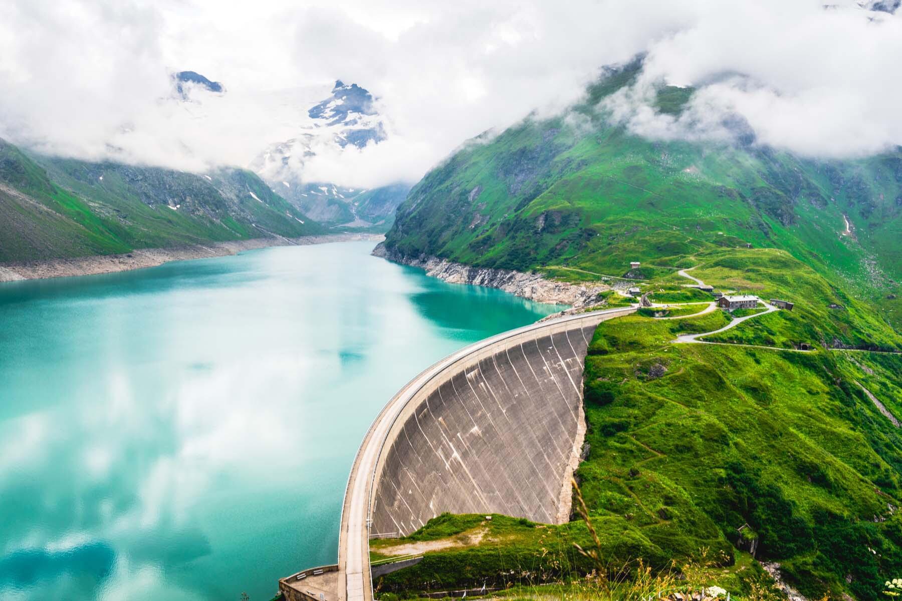 Hydroelectric dam in Austria