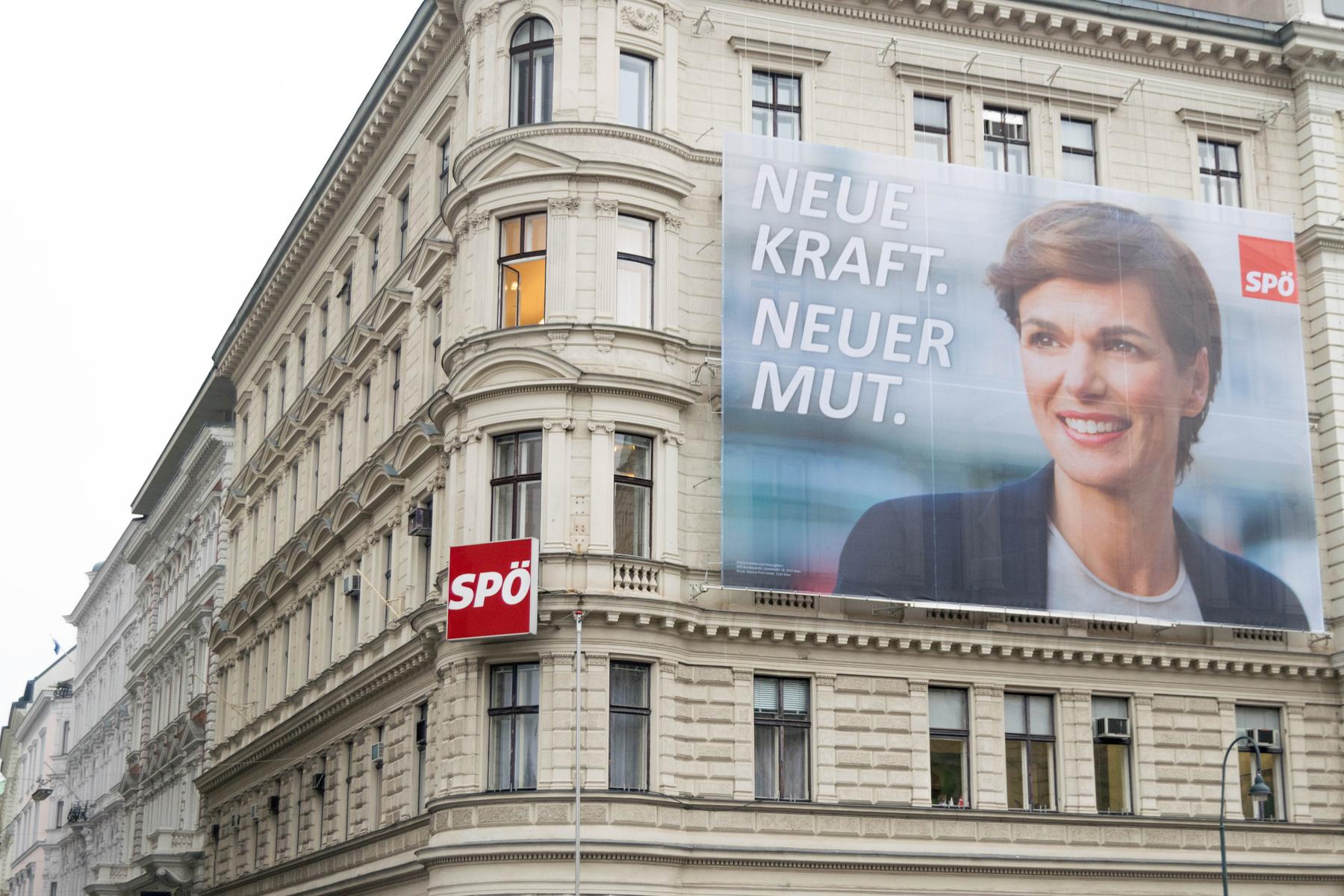 SPÖ headquarters in Vienna