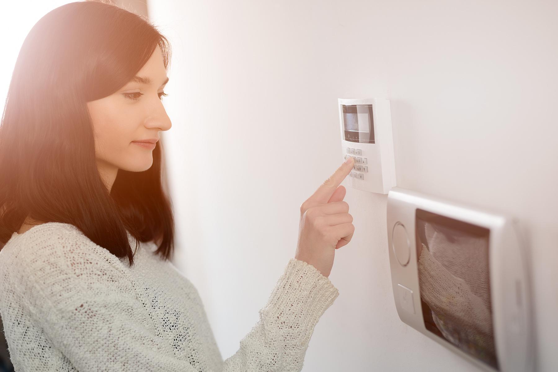 Home alarm system in Austria