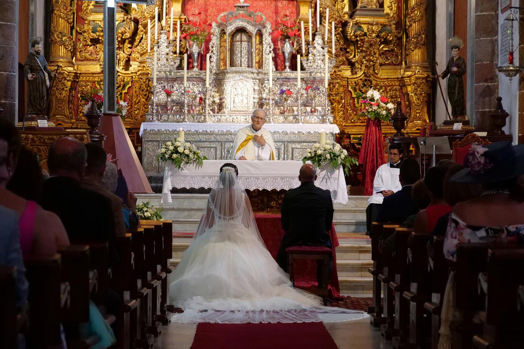 religious wedding in spain