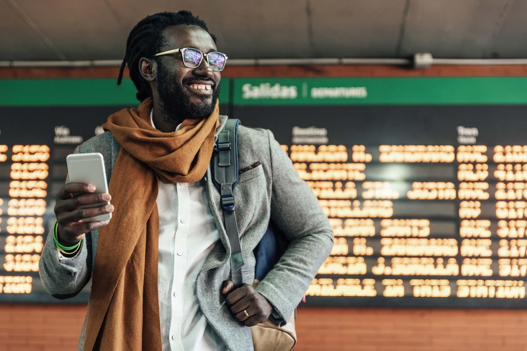 Spanish station phone