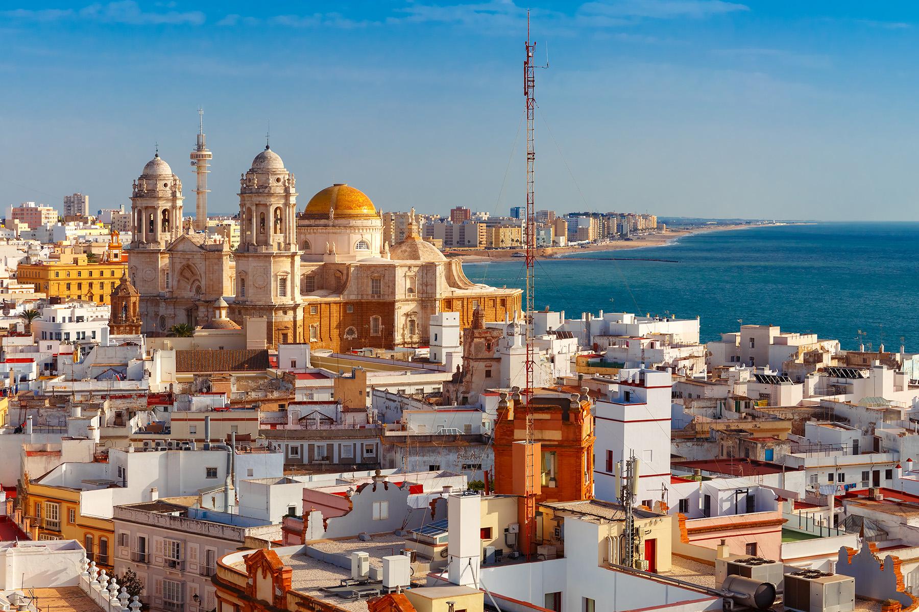Skyline of Cádiz