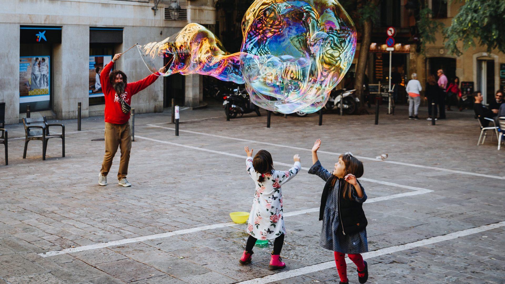 Kids in Barcelona