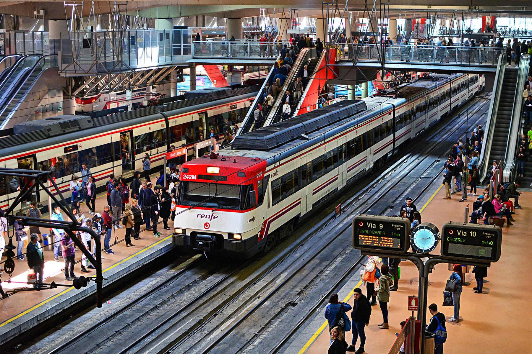 Renfe Cercanías trains