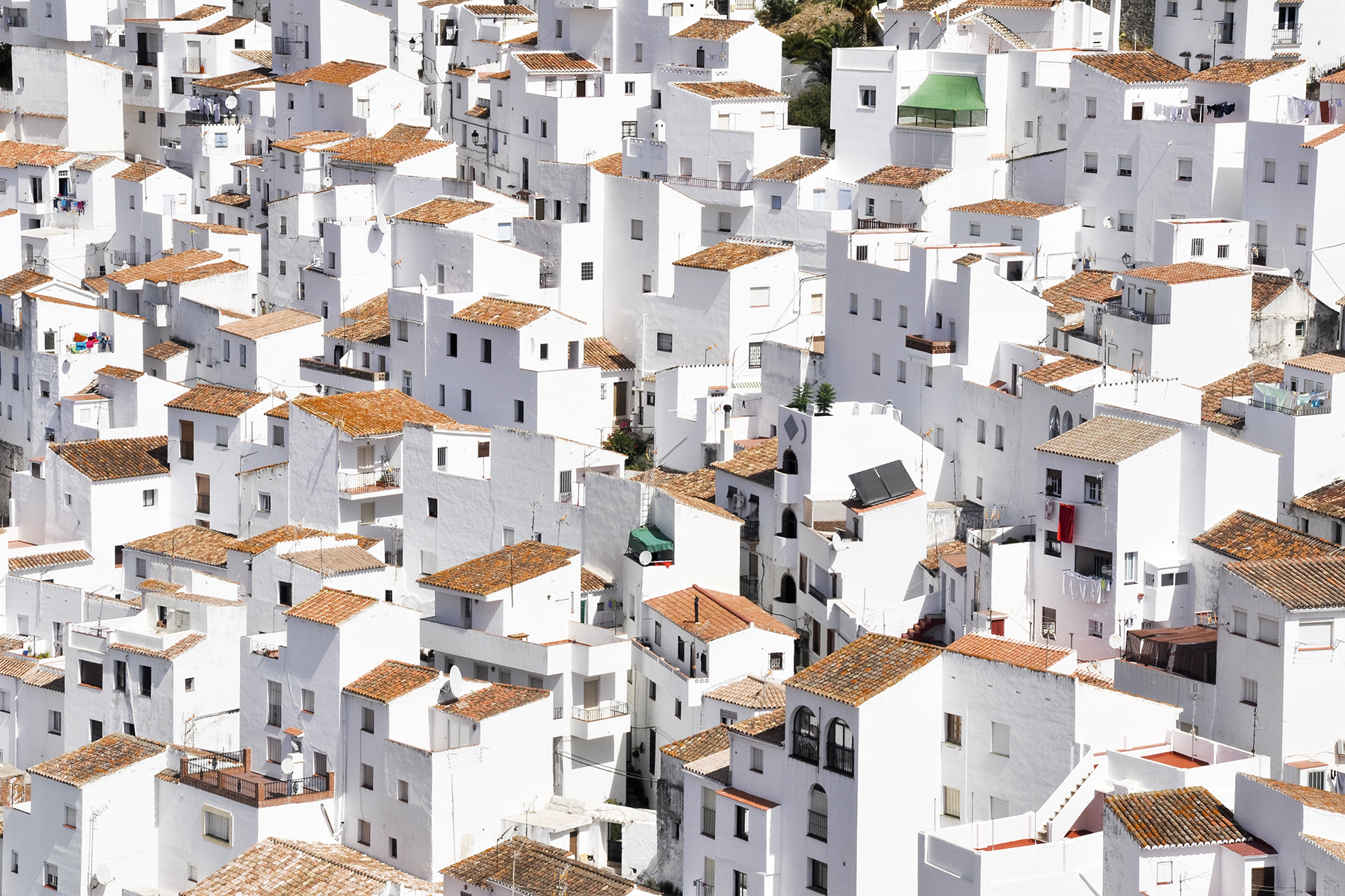 Houses in Casares, Spain