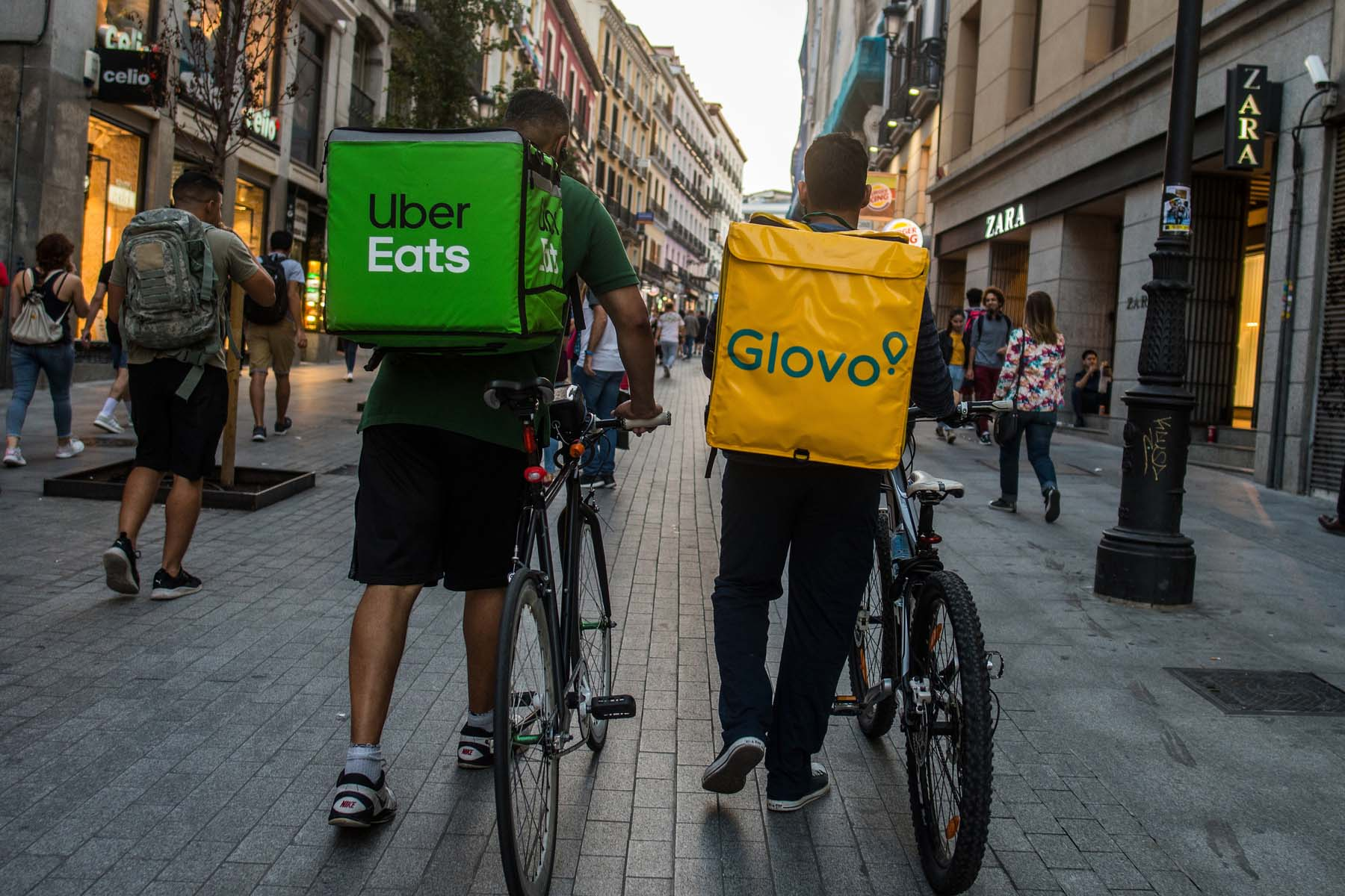 delivery apps Spain