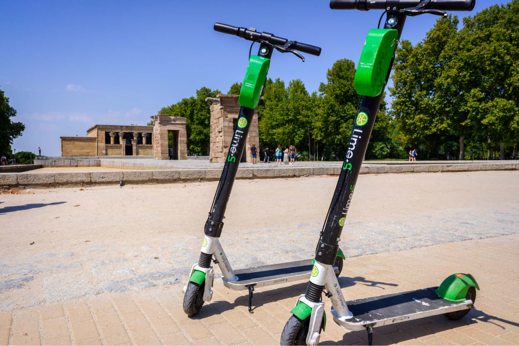 lime scooters Madrid