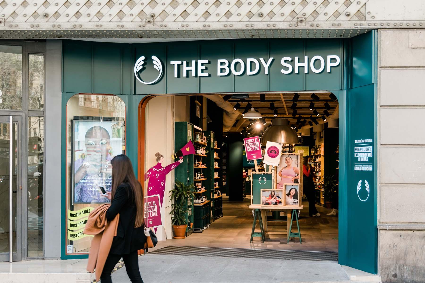 Body Shop in Spain