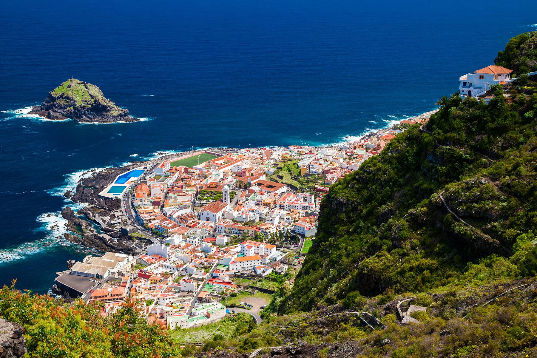 Garachico in the Canary Islands
