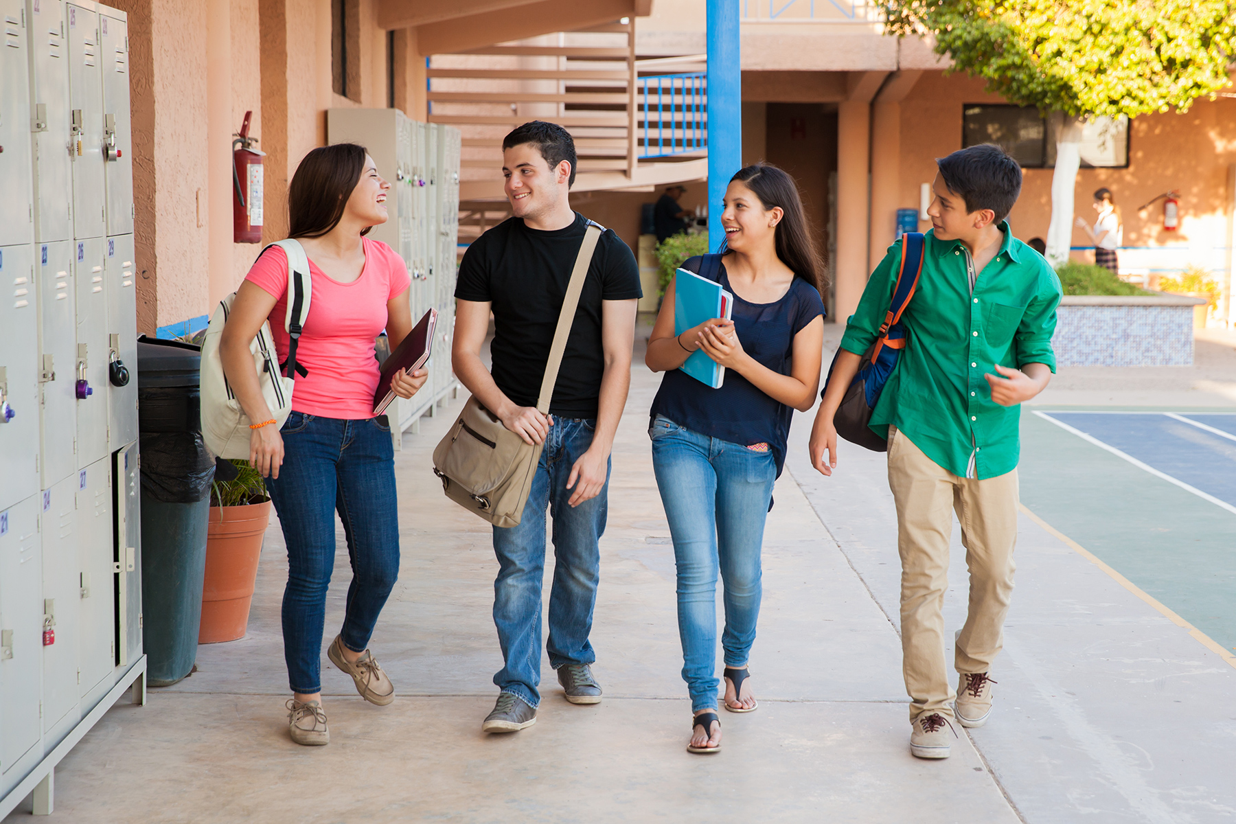 Education in Spain: secondary school students