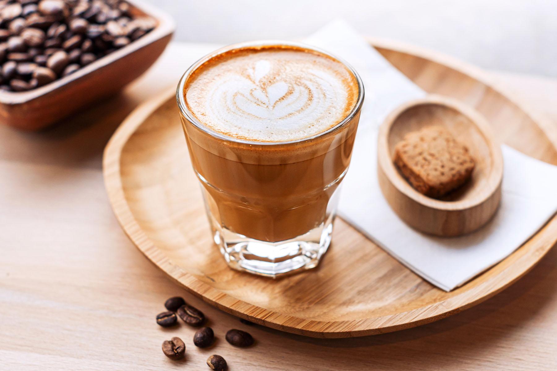 Spanish drinks: cafe cortado