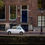 Driving in Amsterdam