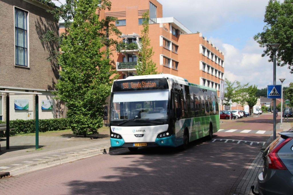 Bus in Rotterdam