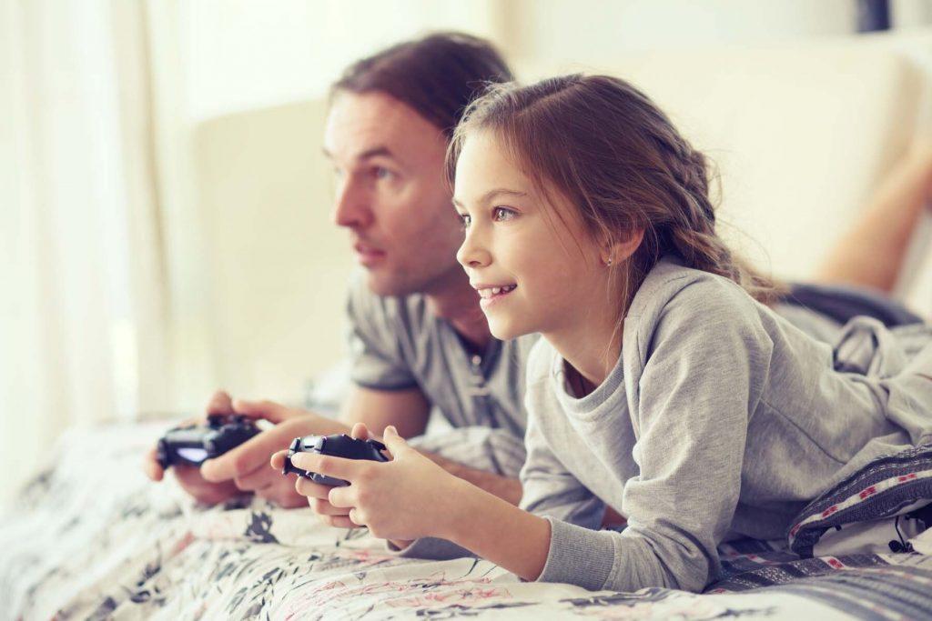 Children gaming