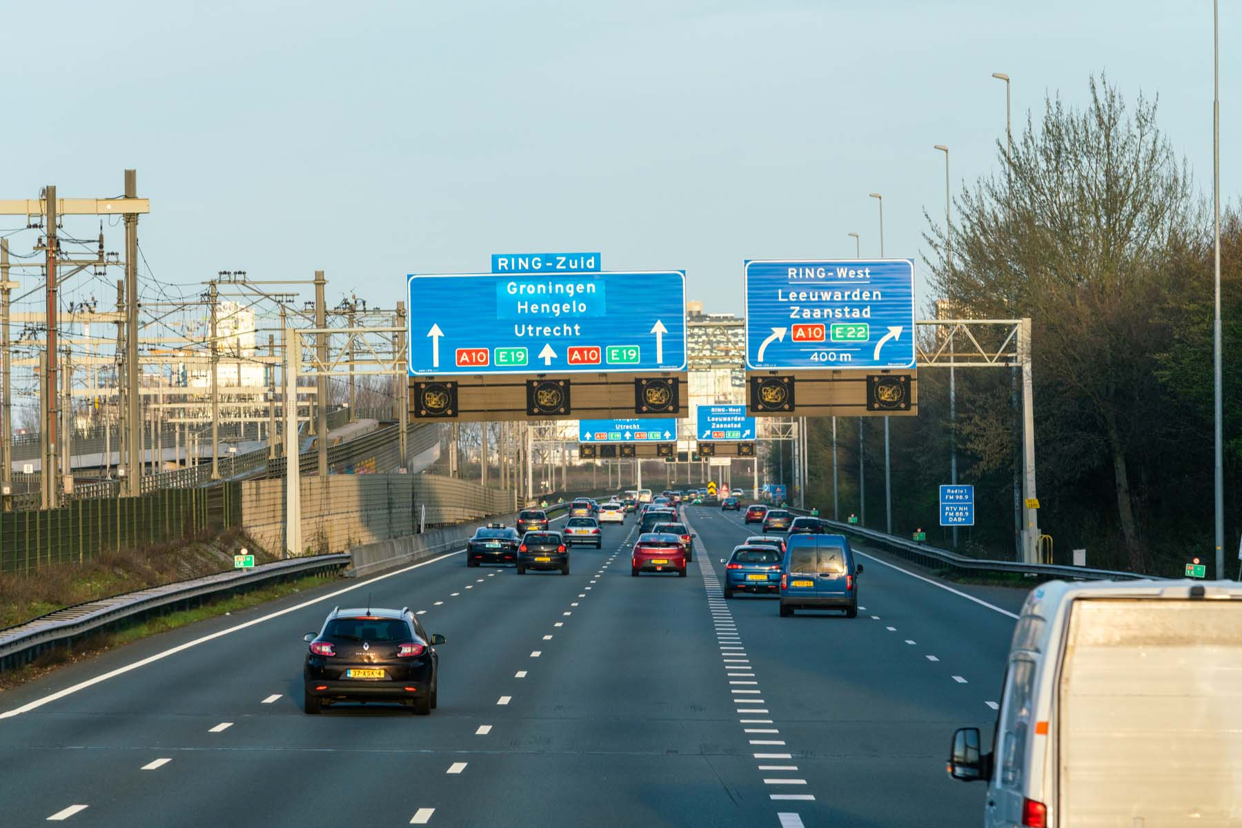Highway near Amsterdam