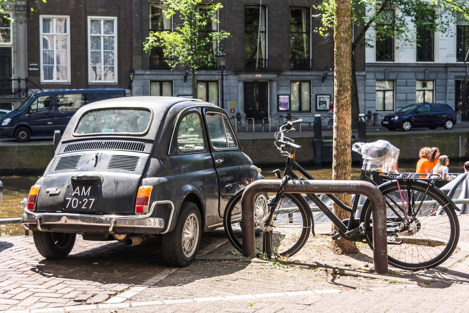 Car in Amsterdam