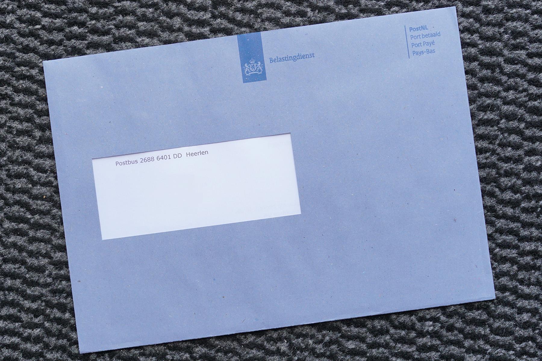 A Belastingdienst tax letter