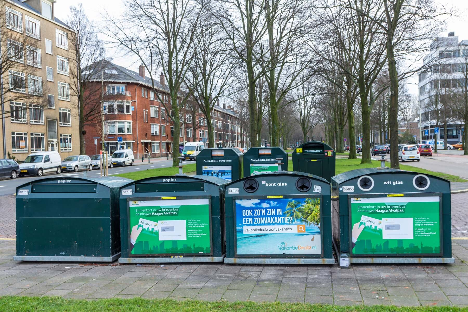 recycling in the hague