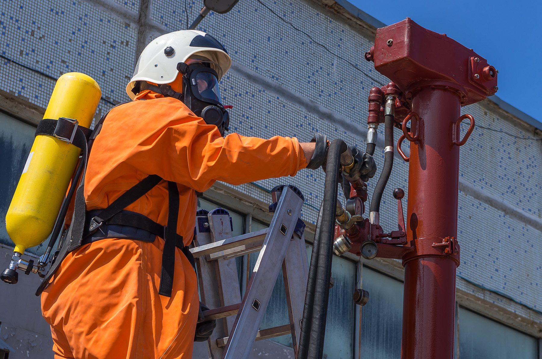 emergency gas leak in the Netherlands
