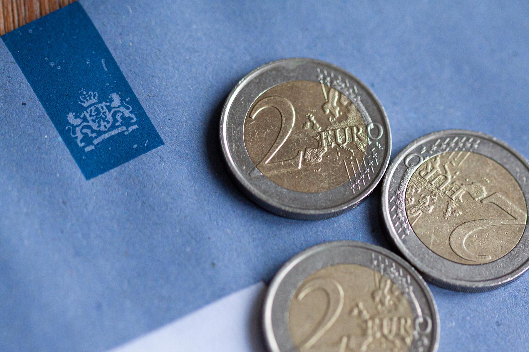 Belastingdienst blue envelope