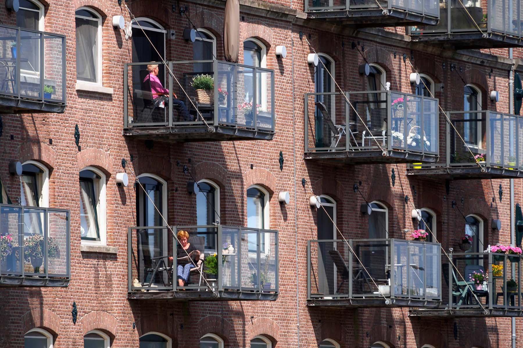 Dutch balconies