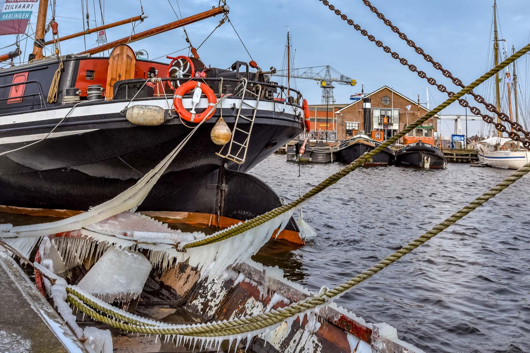 Den Helder port - relocations to Netherlands