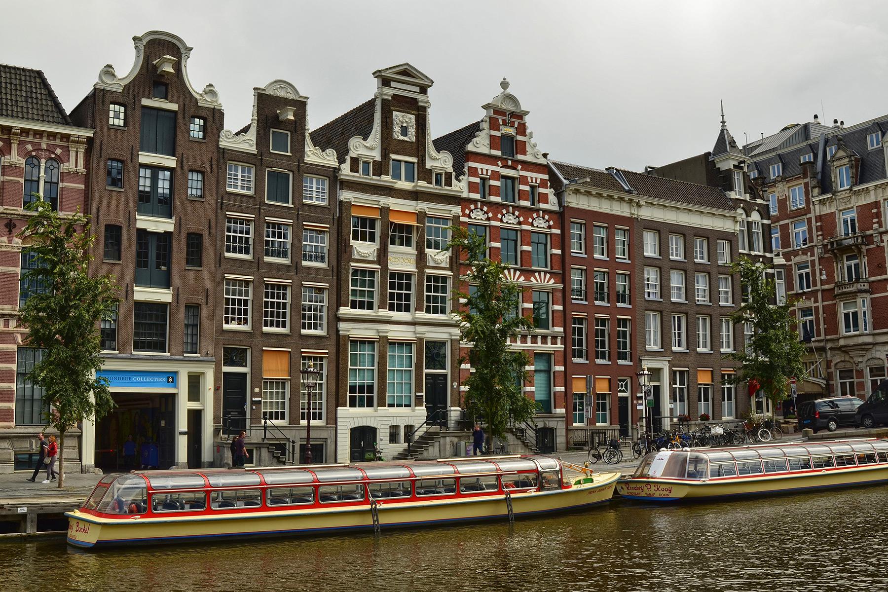 Dutch canal boats