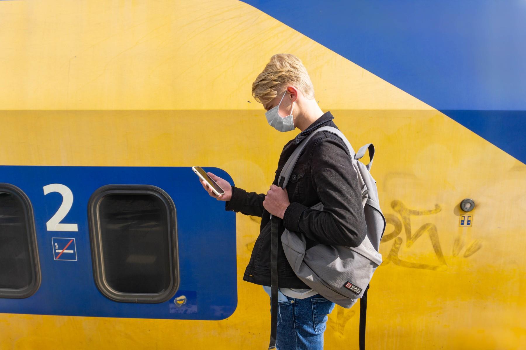 Netherlands train travel during coronavirus
