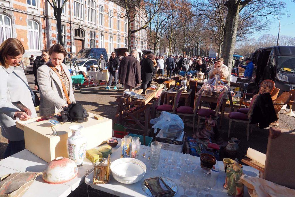 flea market Liege