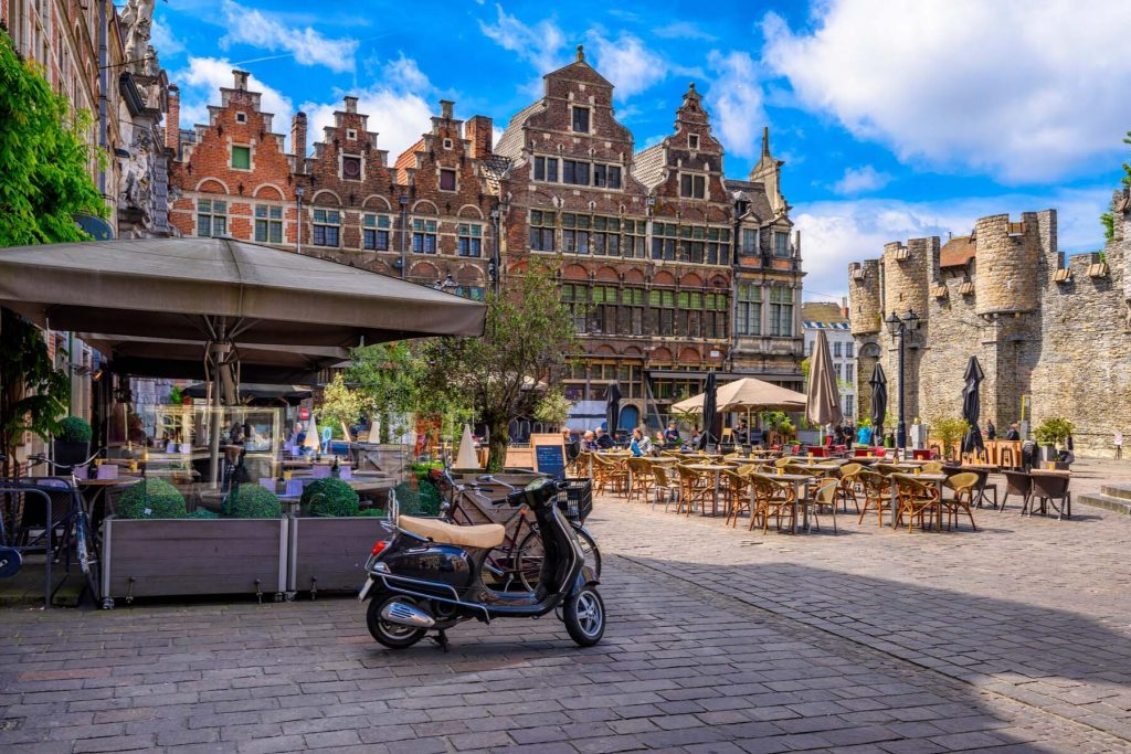 Ghent shopping