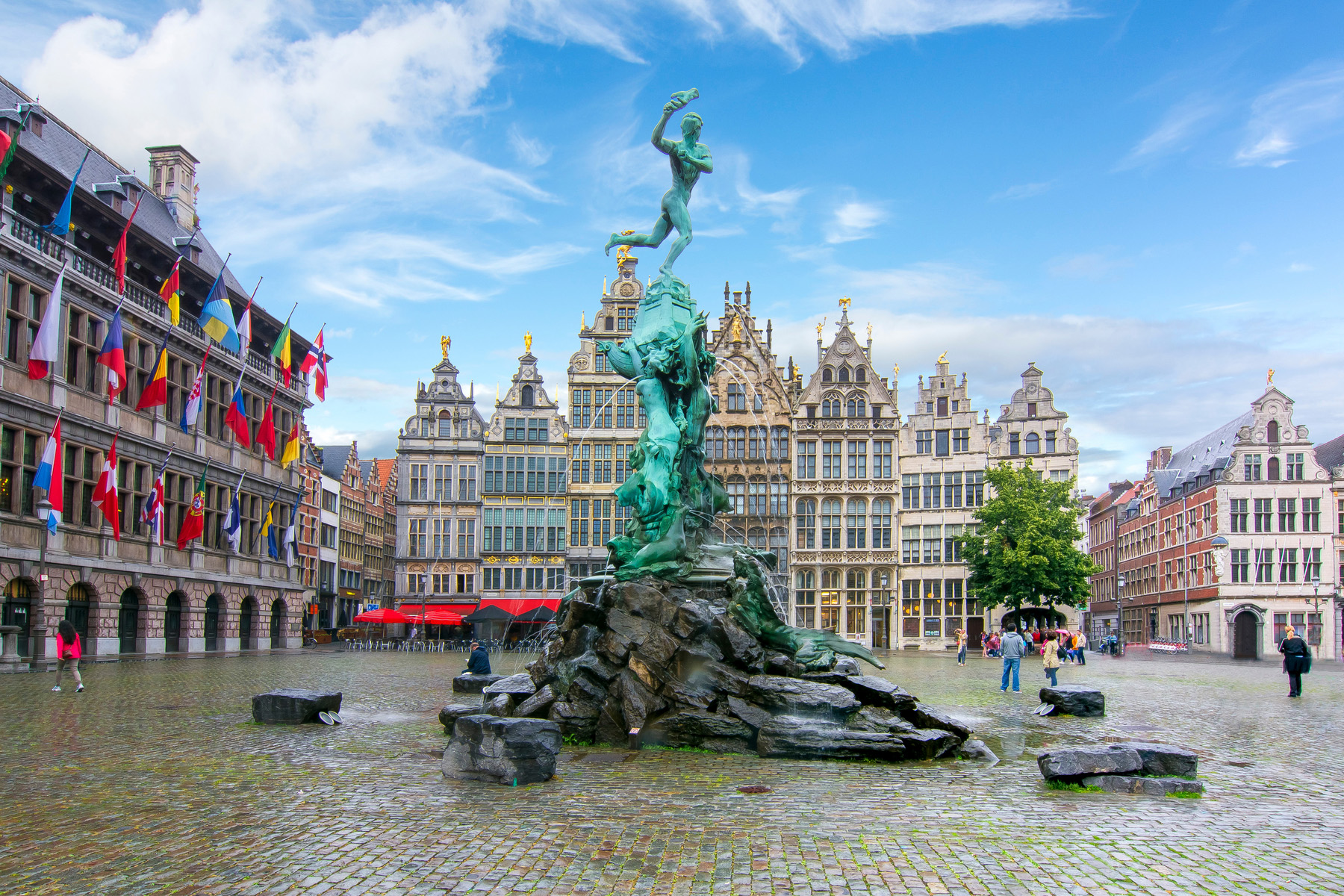 Grote Markt in Antwerp