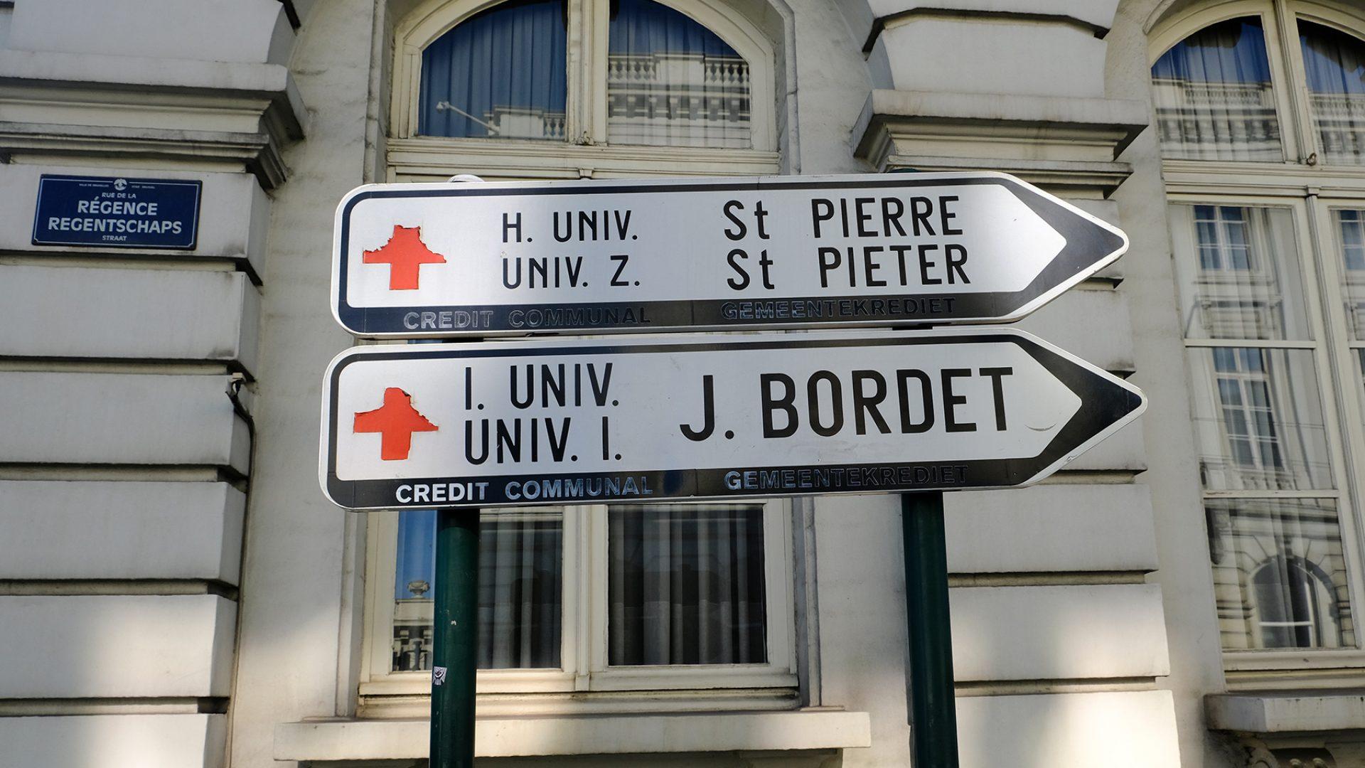 Hospitals in Belgium