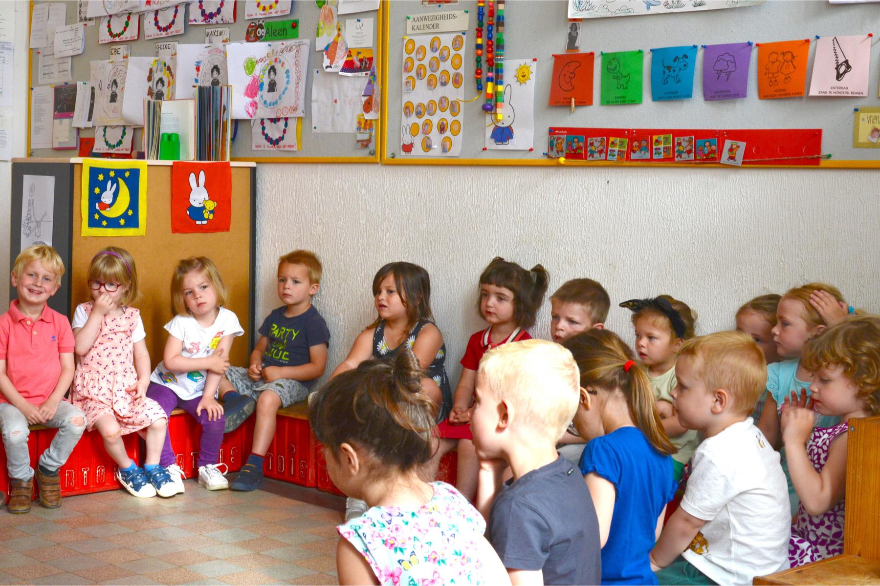 Belgian classroom