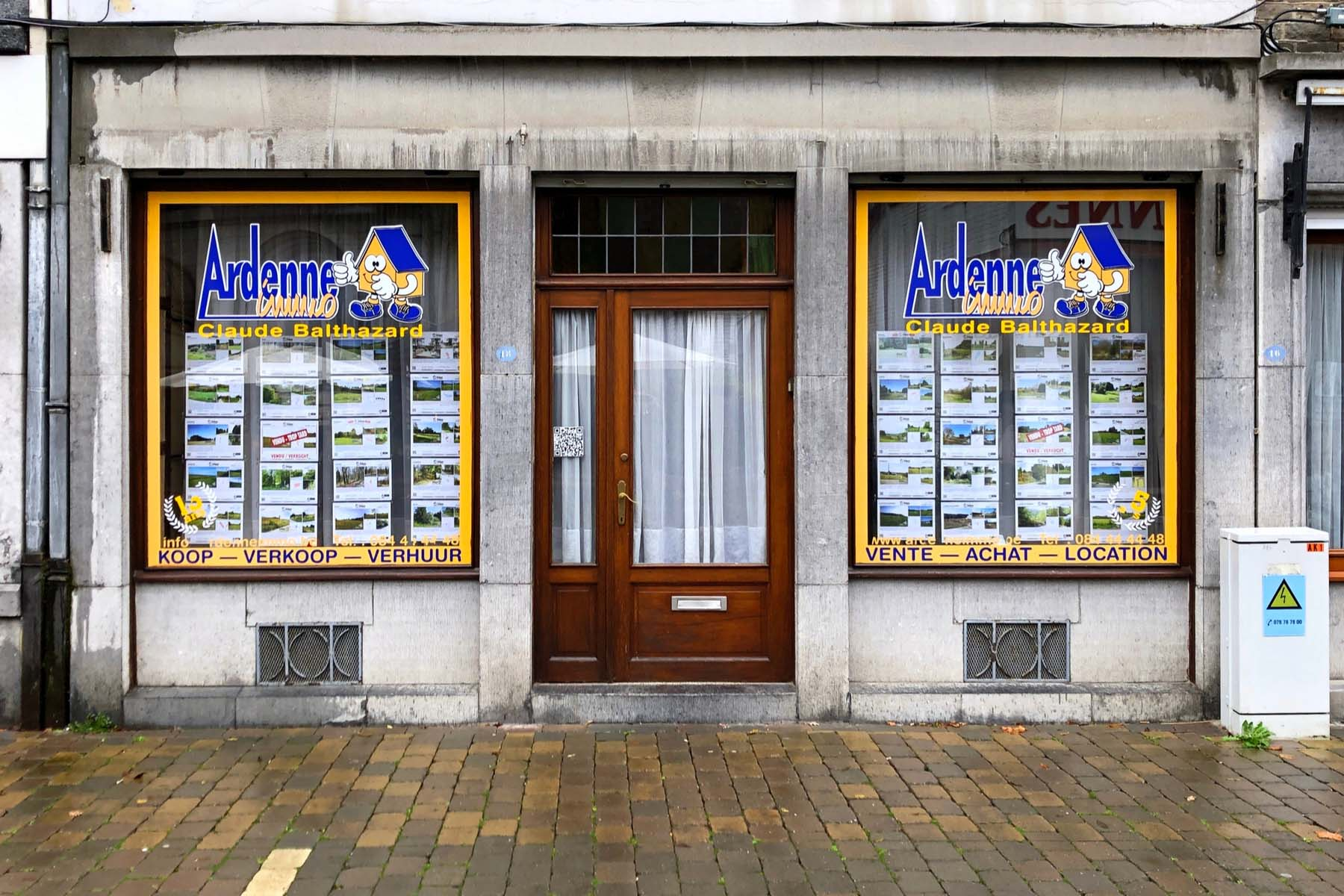 finding a house in Belgium