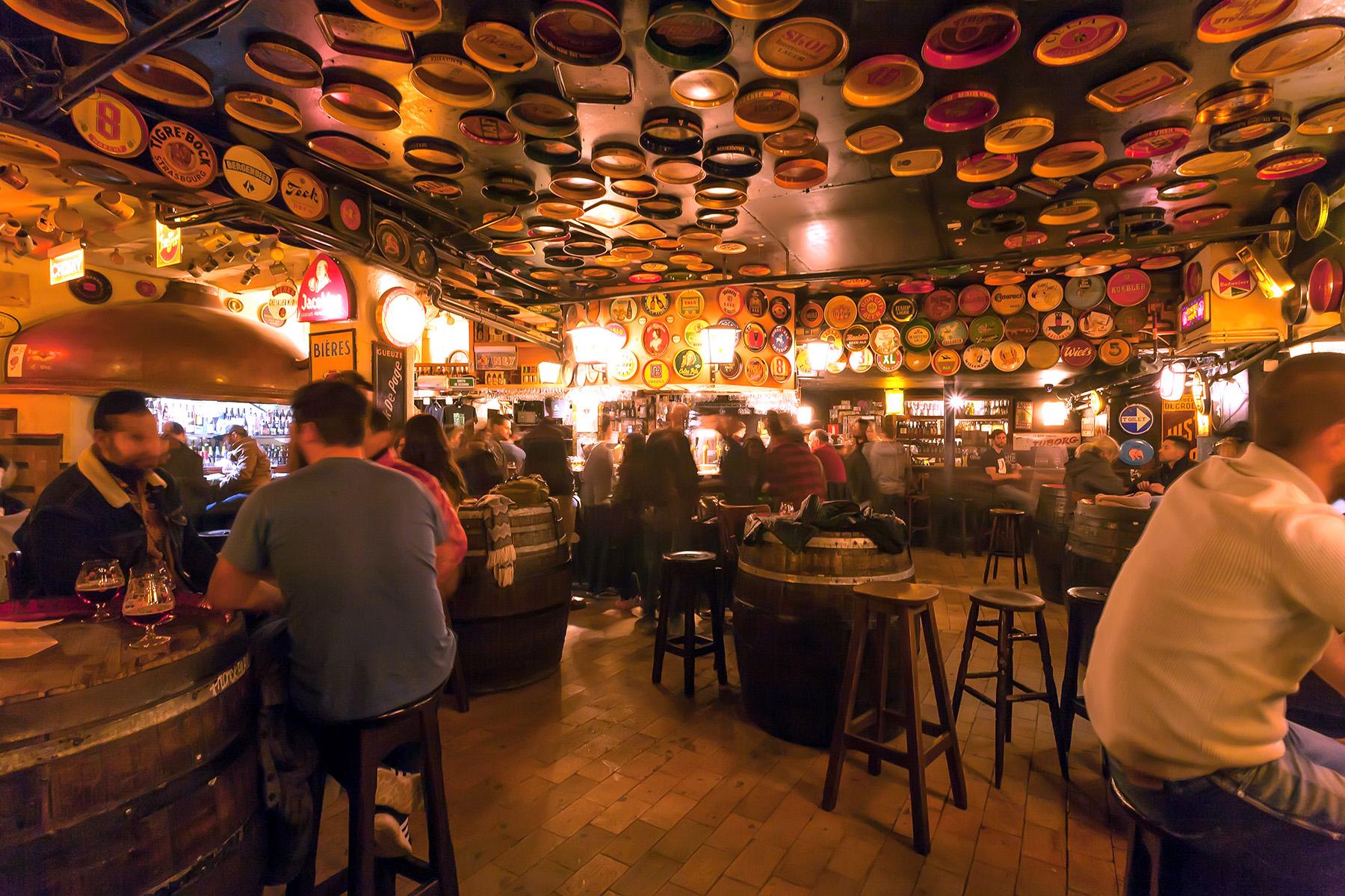Delirium Café in Brussels
