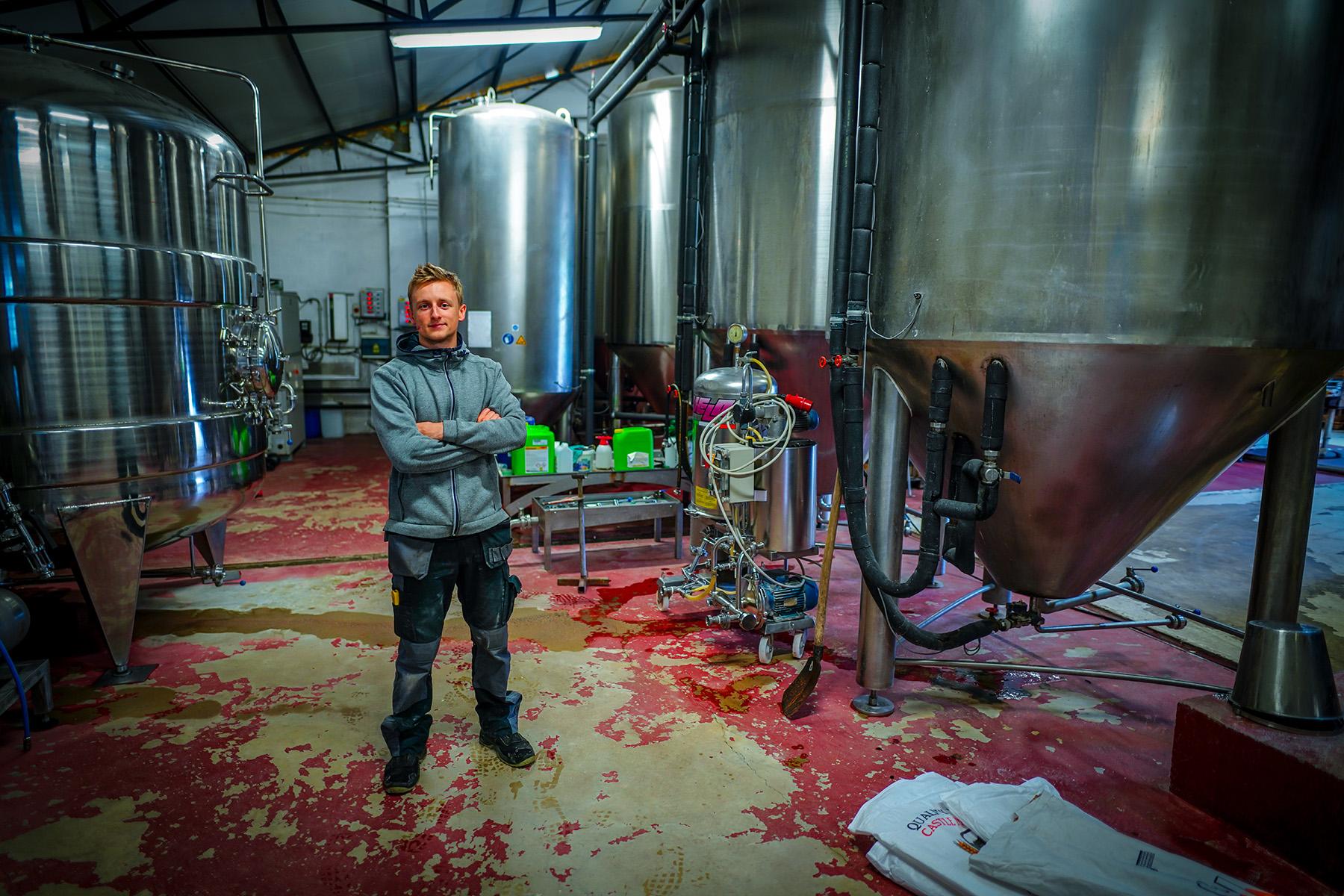 Léopold 7, a Belgian craft brewery