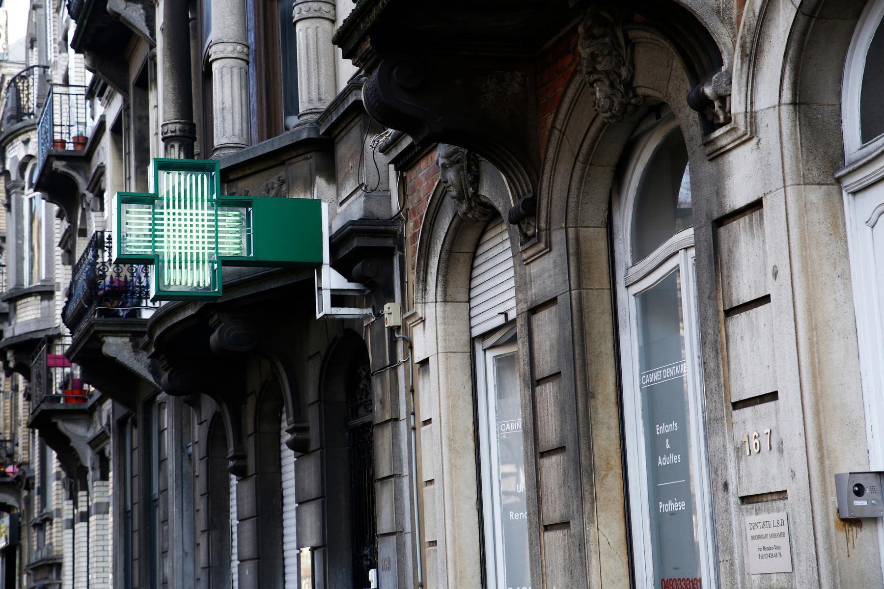 Pharmacy in Brussels