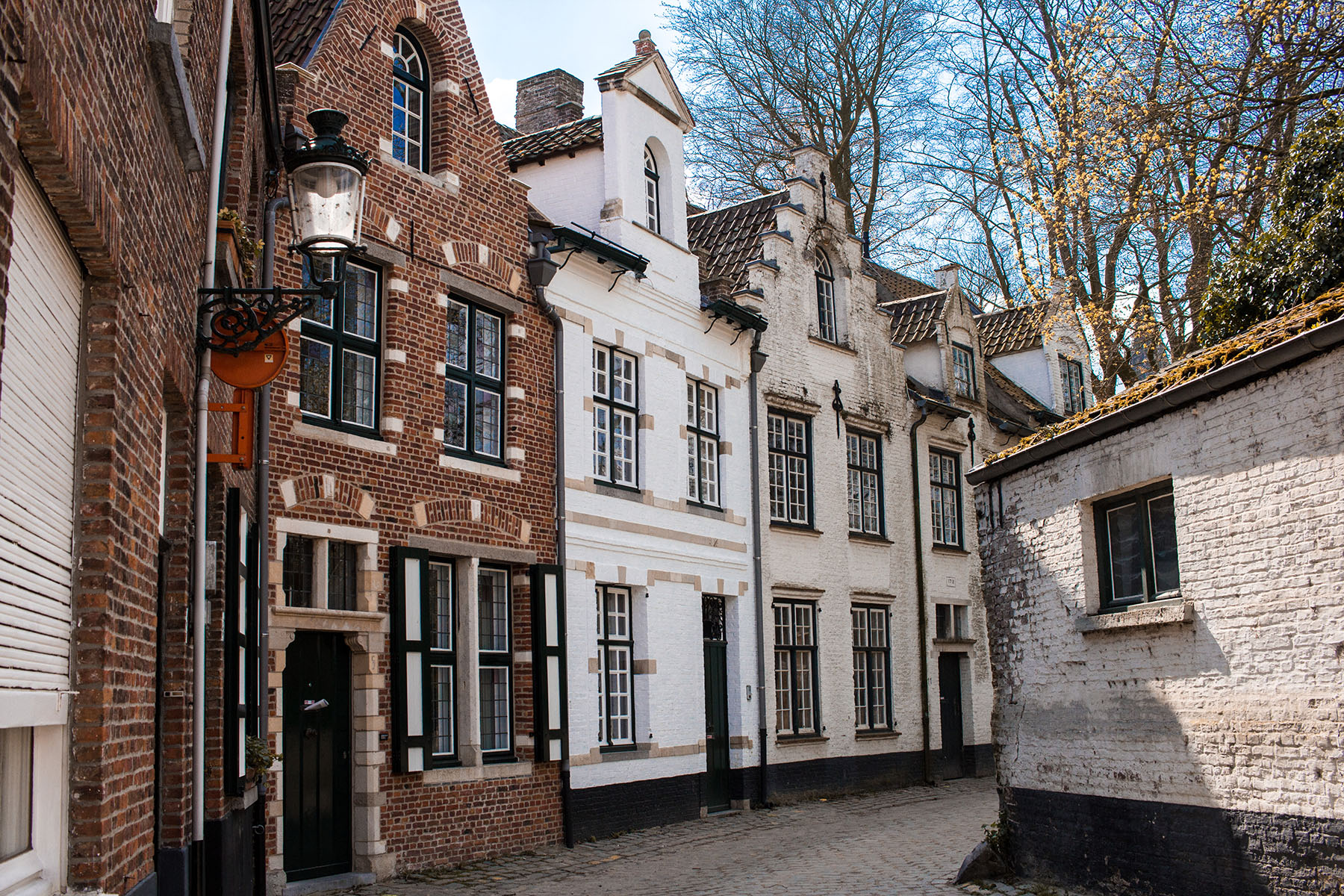 Old houses in Brugge