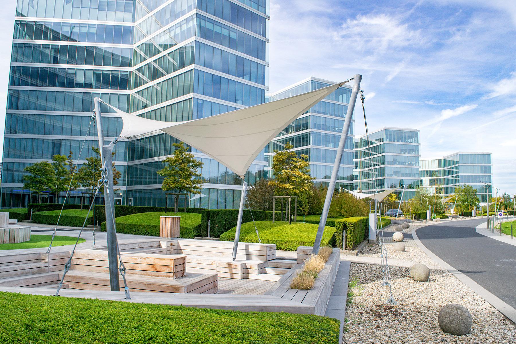 Office buildings in Brussels